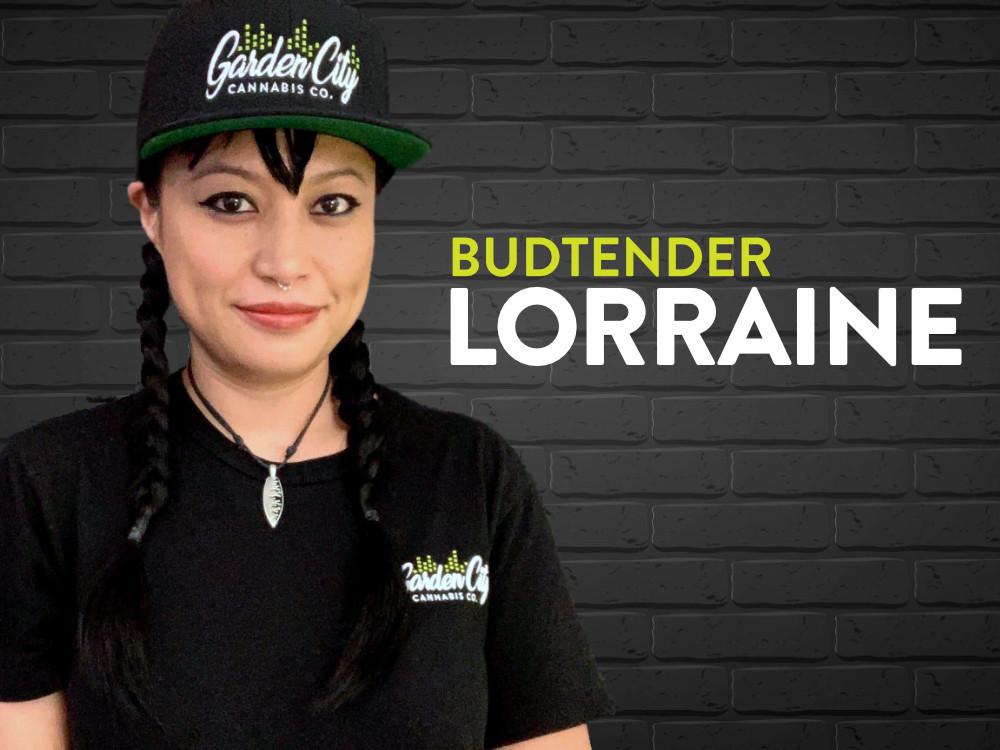 Lorraine - budtender at Garden City Cannabis Co