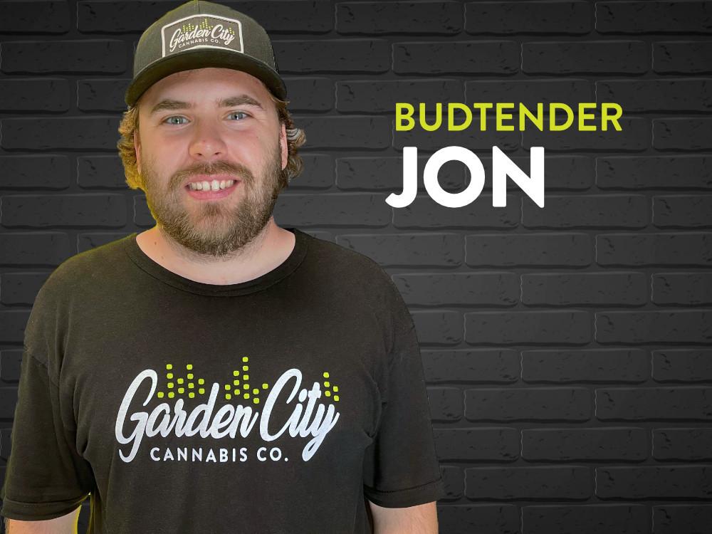 Garden City Cannabis Co Budtender, Jon